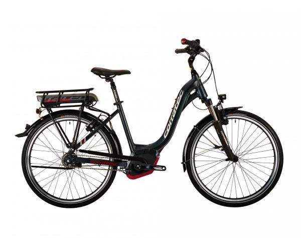 """Ein gebrauchtes Top E-Citybike von Corratec zu einem starken Preis!Das Corratec E-Power 26 Coaster Active Lady 400 bietet einen tiefen Einstieg, maximalen Komfort und Sicherheit. Die E-Power 26"""" Modellreihe ist das Pedelec für die Stadt und Umgebung für Menschen, die ein kompakteres Pedlec bevorzugen. Dieses gebrauchte E-Citybike stellt einen besonderen Anreiz für echt Clevere E-Bike Käufer dar.  Die gebrauchten E-Bikes von Greenstorm sind praktisch eingefahren, Top-gewartet und die Gebrauchsspuren sind minimal.  Greenstorm gewährt 2 Jahre Garantie auf Motor und Akku ab Kaufdatum ihres gebrauchten TOP-E-Bikes."""