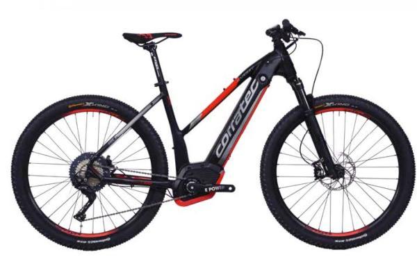 """Das Corratec E-Power X Vert Pro 650B bringt alles mit, was du für E-Bike Spaß im Gelände und auf der Straße brauchst. Der Bosch-Performance-CX-Motor schiebt gewohnt kraftvoll und verhilft dem E-Power X Vert zu einer ordentlichen Reichhöhe.  Für Laufruhe und Sicherheit im Gelände sorgen die 27,5"""" Laufräder.  Noch dazu glänzt die hochwertige XT Ausstattung mit präzisen Gangwechseln und hoher Lebensdauer."""