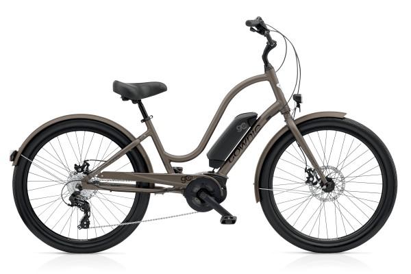 Top trendiges E-Citybike zum gemütlich durch die Stadt cruisen.