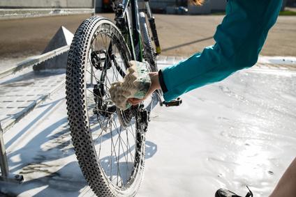 e-bike-waschen